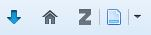 The Zotero button as it appears in a web browser menu.